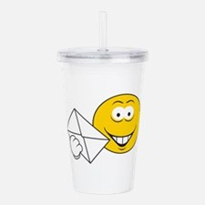 smiley74.png Acrylic Double-wall Tumbler