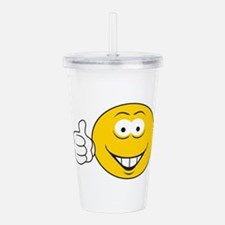 smiley209.png Acrylic Double-wall Tumbler