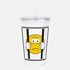 smiley41.png Acrylic Double-wall Tumbler