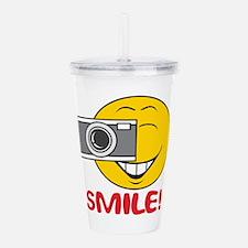 smiley73.png Acrylic Double-wall Tumbler