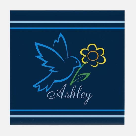 Cute Ashley Tile Coaster