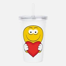 smiley155.png Acrylic Double-wall Tumbler