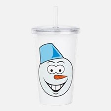 smiley156.png Acrylic Double-wall Tumbler