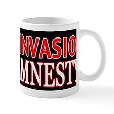 Stop the Invasion Oppose Amnesty Mug