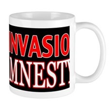 Stop the Invasion Oppose Amnesty Small Mug