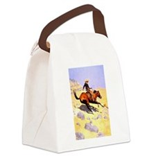 The Cowboy Canvas Lunch Bag