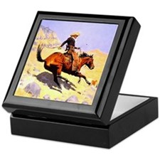 The Cowboy Keepsake Box