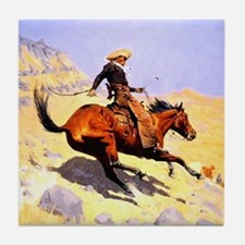 The Cowboy Tile Coaster