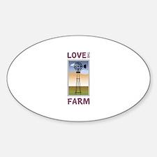 Love The Farm Decal