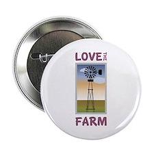 """Love The Farm 2.25"""" Button"""