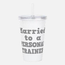 PERSONAL TRAINER.png Acrylic Double-wall Tumbler