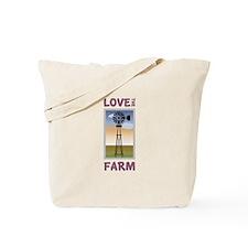 Love The Farm Tote Bag