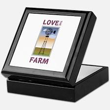 Love The Farm Keepsake Box