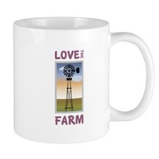 Love The Farm Mugs