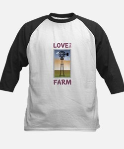 Love The Farm Baseball Jersey