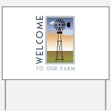 Our Farm Yard Sign