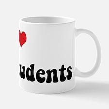 I Love Grad Students Mug