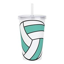 volleyball belly.png Acrylic Double-wall Tumbler