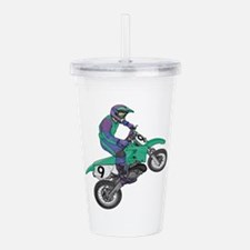 dirt bike popping wheelie copy.jpg Acrylic Double-