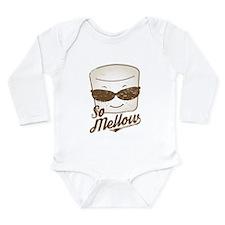 Marsh Mellow Long Sleeve Infant Bodysuit