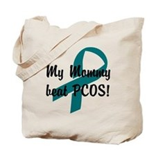Mommy Beat PCOS! Tote Bag
