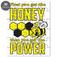 First get honey then power Puzzle