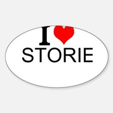 I Love Stories Decal