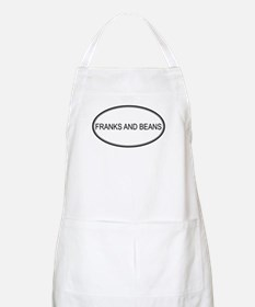 FRANKS AND BEANS (oval) BBQ Apron