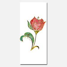 Scrollwork Tulip with Metallic Gold Embellishments