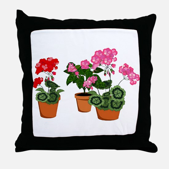 Unique Botanical Throw Pillow