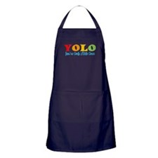 YOLO: You're Only Little Once Apron (dark)
