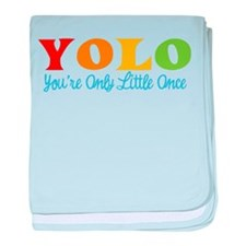 YOLO: You're Only Little Once baby blanket