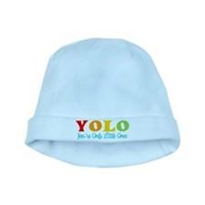 YOLO: You're Only Little Once baby hat