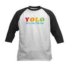 YOLO: You're Only Little Once Baseball Jersey