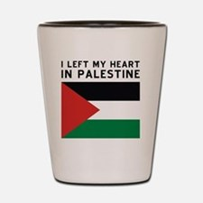 Support Palestine Shot Glass