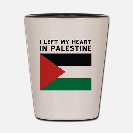 Support Palestine Shot Glass