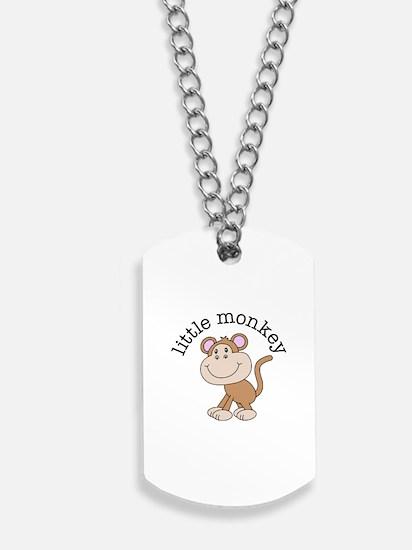 Little Monkey Dog Tags