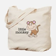 Little Monkey Tote Bag