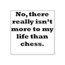 Chess My Life Sticker