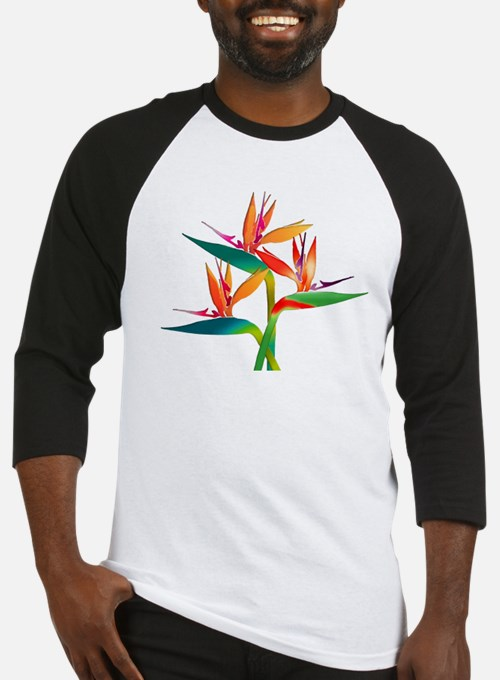 Birds of Paradise Trio Baseball Jersey