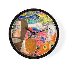 Cute Platinum Wall Clock