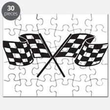 Cute Racing flags Puzzle