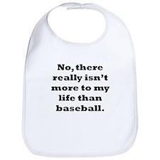 Baseball My Life Bib