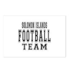 Solomon Islands Football Postcards (Package of 8)