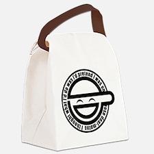 Cute Hacker Canvas Lunch Bag