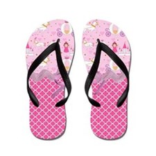Once Upon a Princess Flip Flops