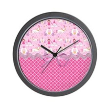 Once Upon a Princess Wall Clock