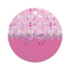 Once Upon a Princess Round Ornament