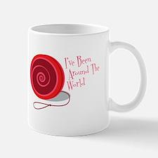I've Been Around The World Mugs