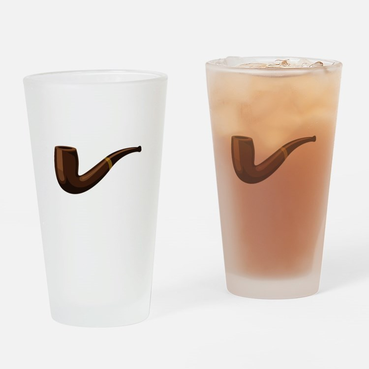 Pipe Drinking Glass